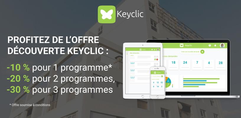 Offre decouverte Keyclic