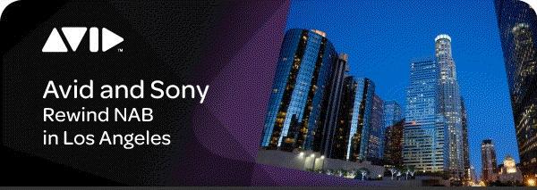 Avid Sony Invite July 0709