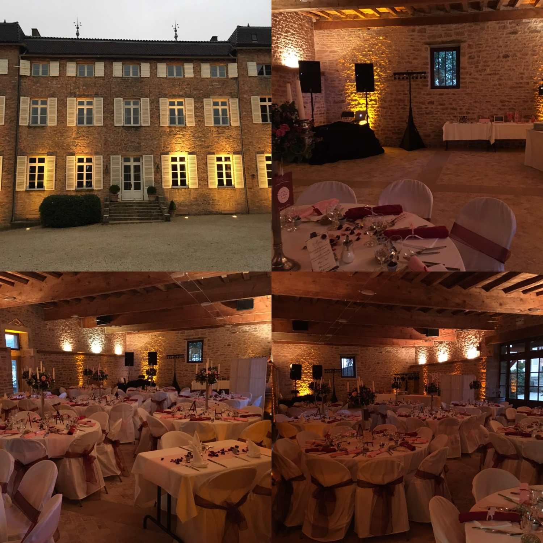 Mariage, Bourgogne, Automne, Dj, Lyon