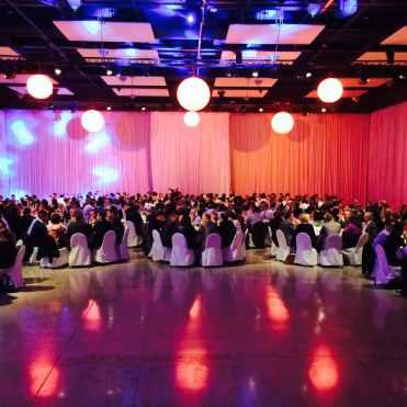 Soirée de gala avec prestation DJ au Centre des Congrès de Lyon pour une prestation DJ de soirée d'entreprise