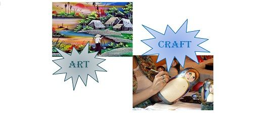 Difference Between Art And Craft With Comparison Chart Key Differences