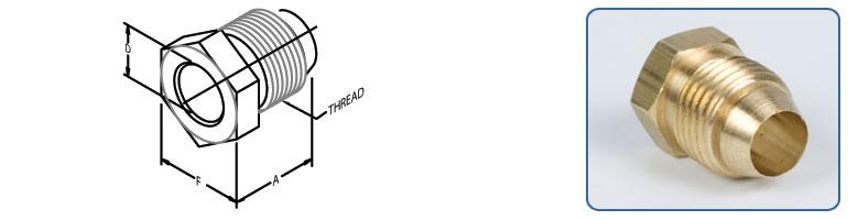 tube nuts - Threaded Sleeve Tube Connector