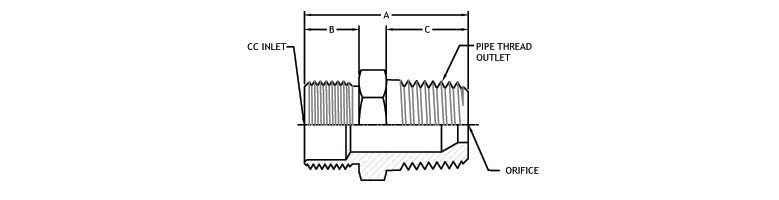 gas compression inlet