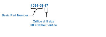 Compression Inlet - Orifice Spud Outlet