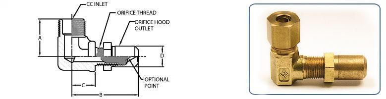 Regular Elbow Orifice Holder