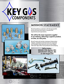 Key Gas Product Catalog