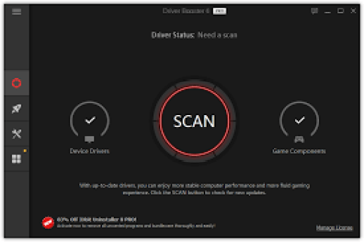 IOBit Driver Booster Pro Serial Key [100% Working] Full 2019