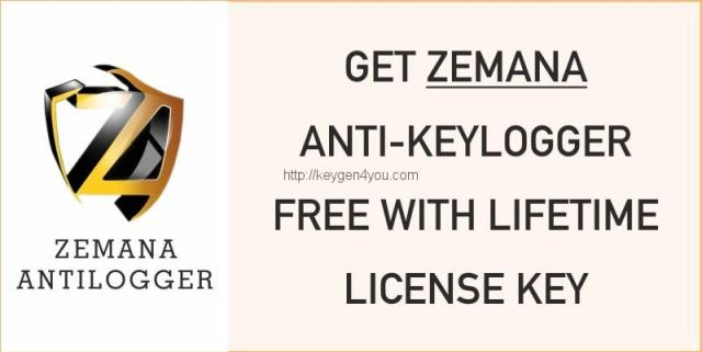 Zemana Antilogger Crack with Serial key