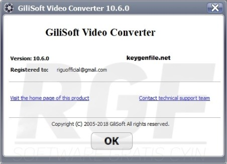 GiliSoft Video Converter 10.8.0 Crack + Keygen (2020) Free Download