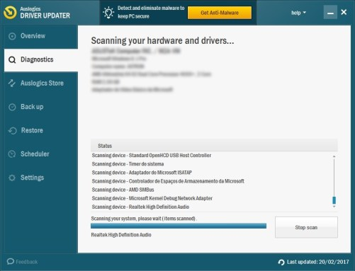 Auslogics Driver Updater 1.9.4.0 Serial Key