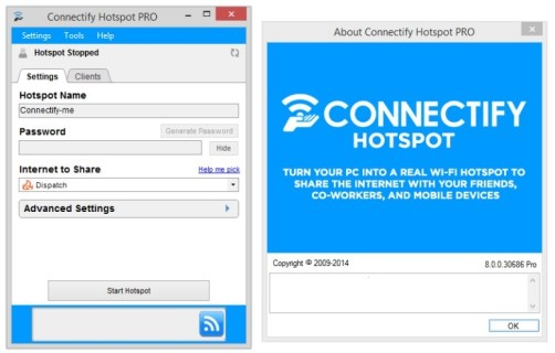 Connectify Hotspot Pro 2019 License Key