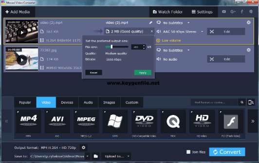 Movavi Video Converter 20.3.0 Premium Activation Key Download