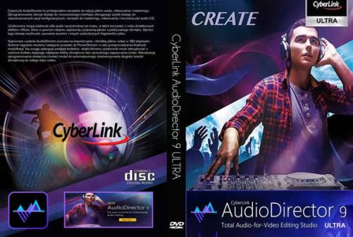 CyberLink AudioDirector 9 Crack