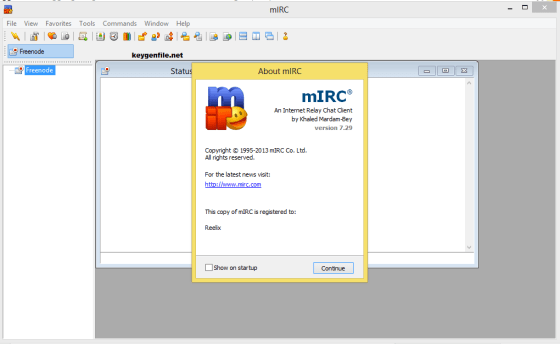 mIRC 7.55 Crack Serial incl Patch Full Free Download