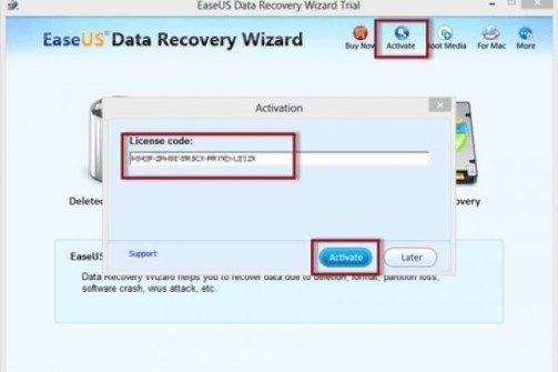 EaseUS Data Recovery 13 License Code