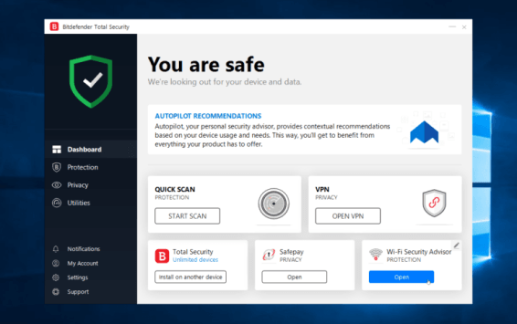 Bitdefender Total Security 2021 Crack + Activation Code (Full)