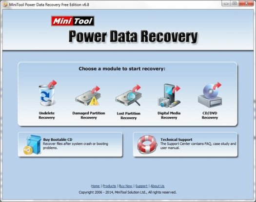 MiniTool Power Data Recovery 8.7 Crack with Keygen Free Download
