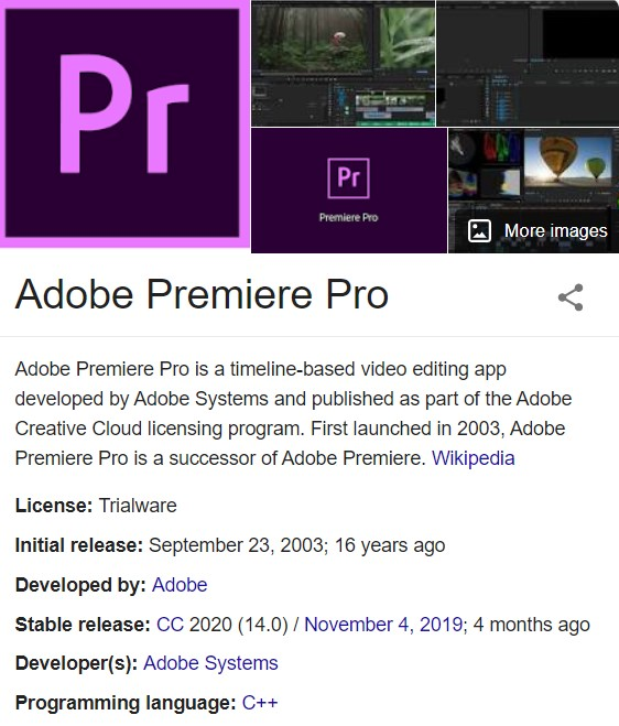 Adobe Premiere Pro 2020 Crack V14.1.0.106 Beta Free Download