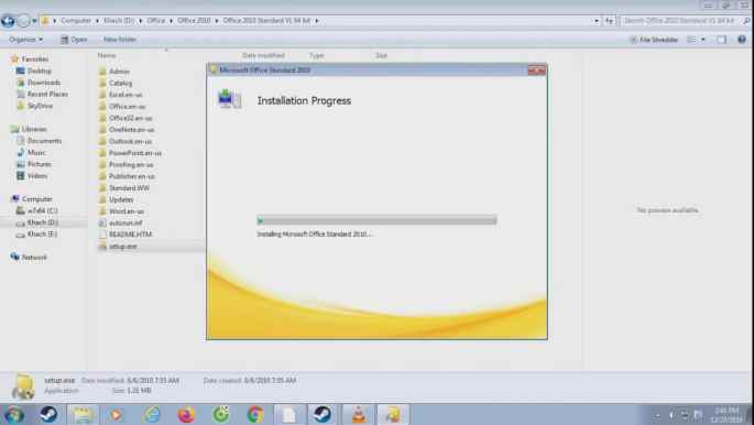 Office 2010 Activator + keys for free!