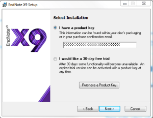 endnote x8 2 product key