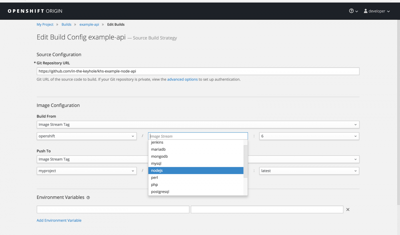 OpenShift: Build, Deployment and Pipeline | Keyhole Software