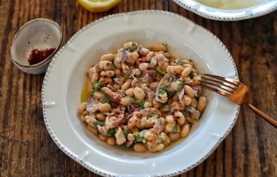Tahinli Piyaz Salatasi