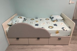 【生活好物】可愛、防護、收納功能又強大的iloom怡倫兒童雲朵床
