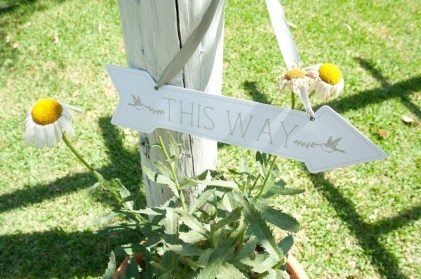 This way to the wedding