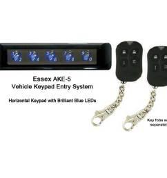 essex ake5 keypad lock for cars [ 2000 x 1500 Pixel ]
