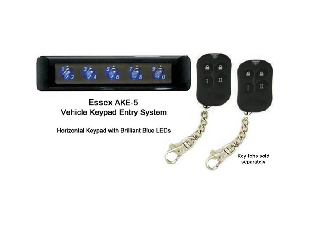 medium resolution of essex ake5 keypad lock for cars
