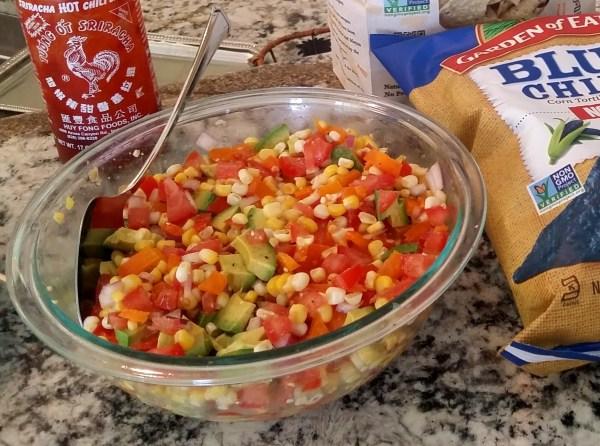 corn tomato avocado salsa