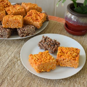 puffed brown rice cereal treats