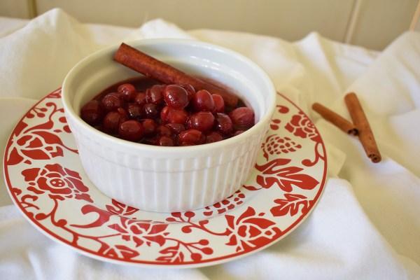 orange cinnamon cranberry sauce