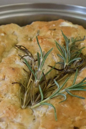 rosemary skillet bread