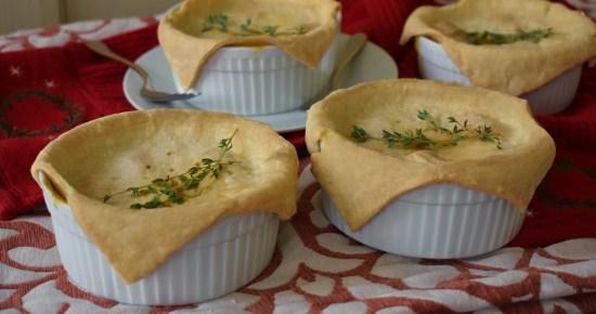 white bean thyme pot pies
