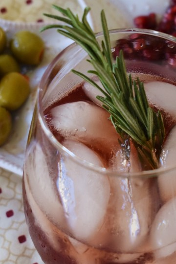 ginger pomegranate punch