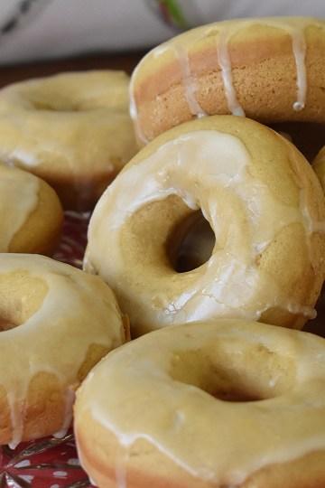 vegan baked donuts