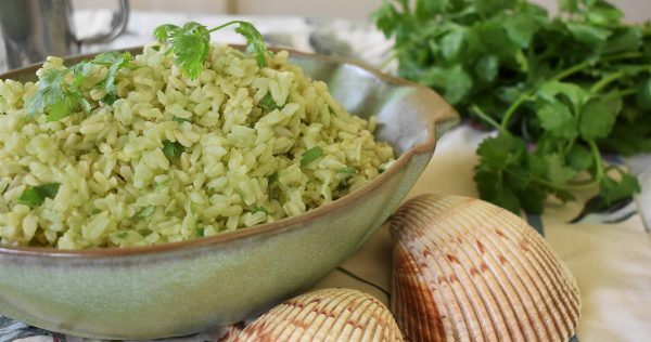 avocado lime rice