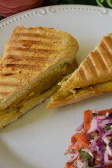 vegan cubano sandwich