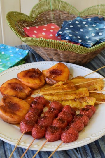 3 simple grilled fruits