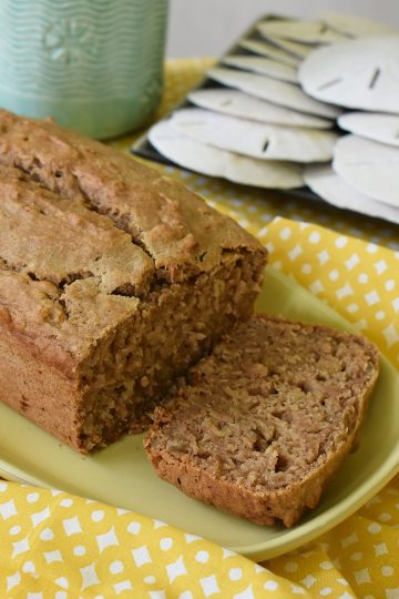 easy applesauce bread
