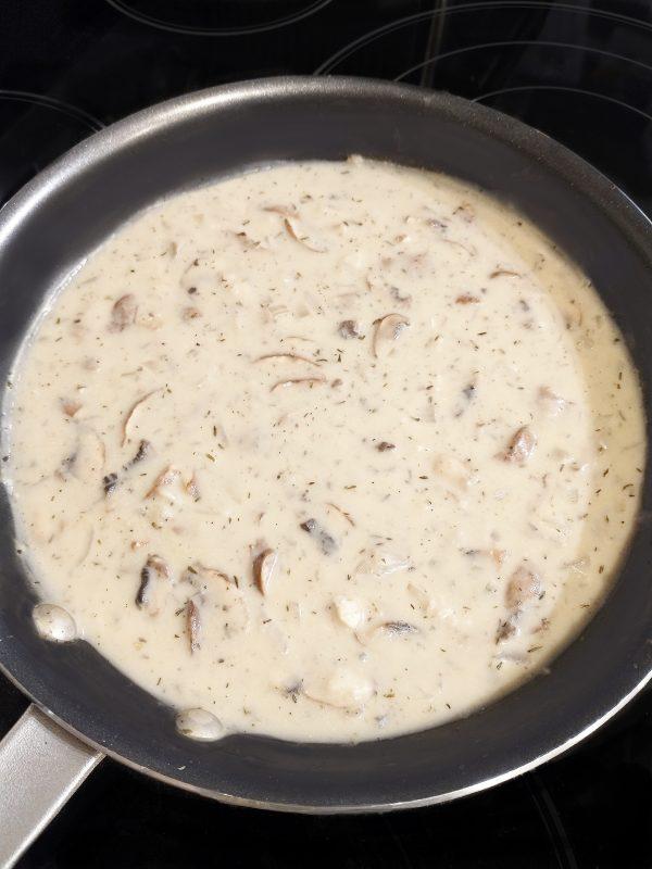 condensed cream of mushroom soup vegan