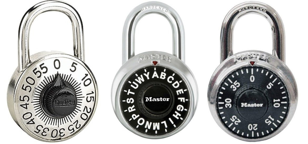 Escape Room Combo Locks