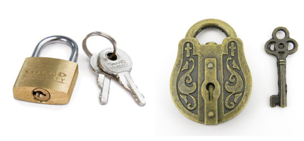 Escape Room Key Locks