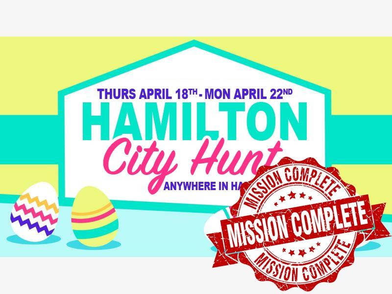 Hamilton Escape Rooms City Hunt COMPLETE