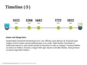 Keynote Timeline Template 4