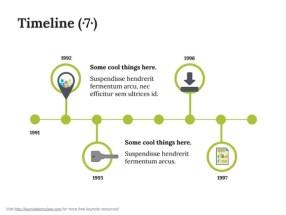 Keynote Timeline Template 8
