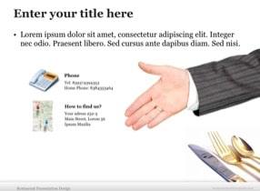 Restaurant Keynote Theme - Slide 8