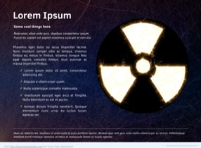 Nuclear Keynote Theme - Slide 3