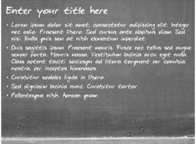 chalkboard keynote template 4